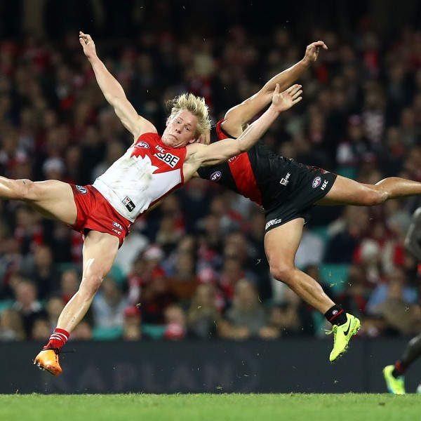 AFL Rd 14 - Sydney v Essendon