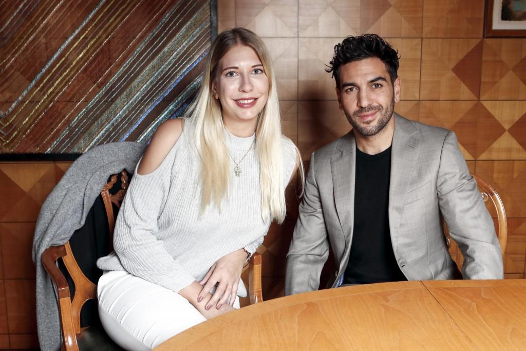 Im Interview mit Elyas M'Barek.